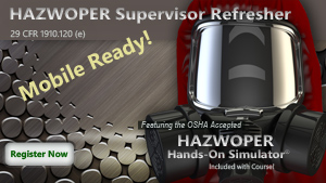 HAZWOPER Supervisor Refresher Course Thumbnail