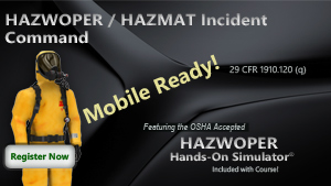 HAZWOPER Incident Command Course Thumbnail
