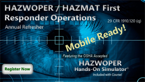 HAZWOPER First Responder Refresher Course Thumbnail