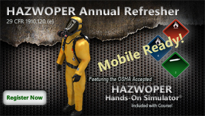 HAZWOPER Annual Refresher Course Thumbnail