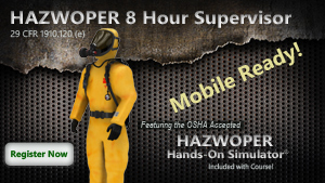 8 Hour HAZWOPER Supervisor Course Thumbnail