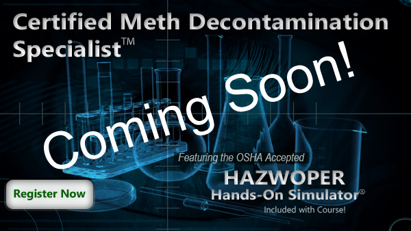 Certified Meth Decontamination Specialist Course Thumbnail
