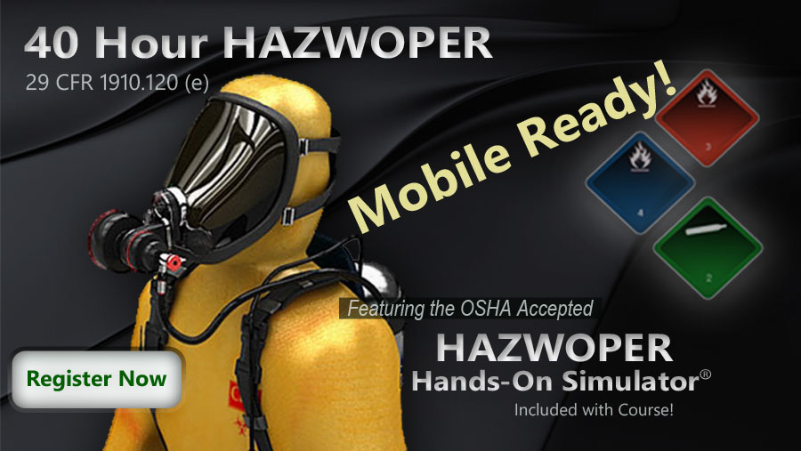 The 40 Hour HAZWOPER Course Overview Environmental Trainings