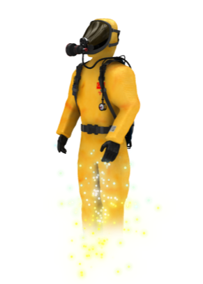 Safety Compliant HAZMAT Suit