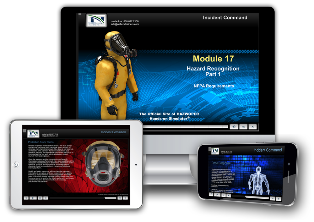 HAZWOPER Training Across your Devices
