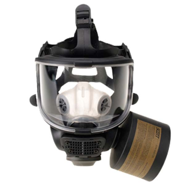 air-purifying respirator used at HAZWOPER sites and HAZMAT emergency responses