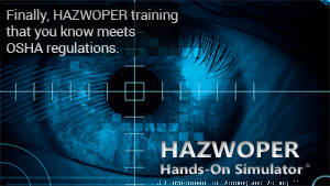 HAZWOPER Hands-on Simulator Promo