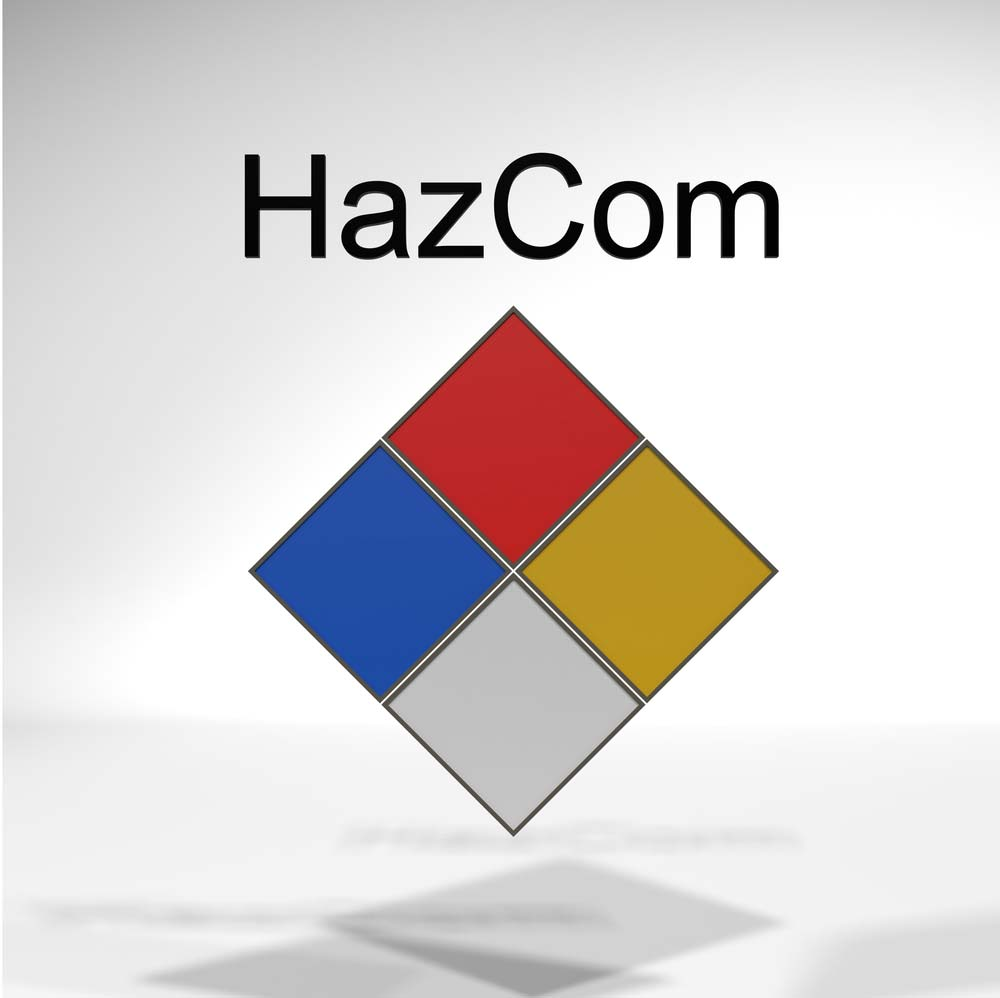 hazcom labeling and placarding example