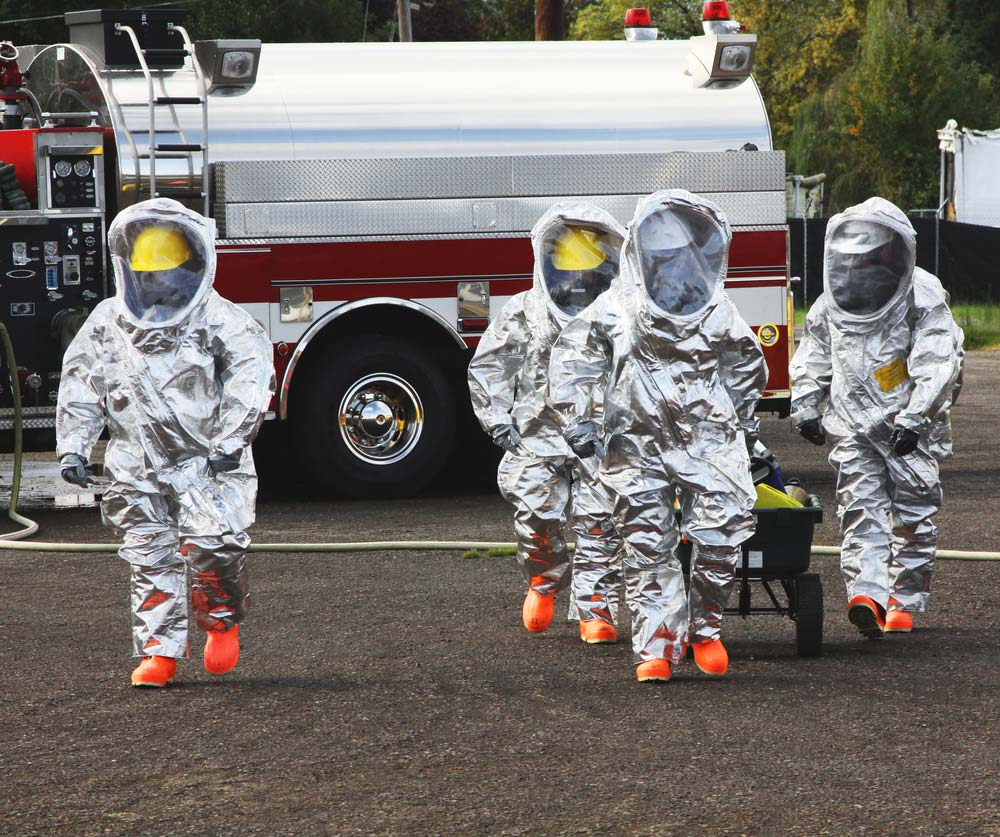 hazwoper ppe in use in the field